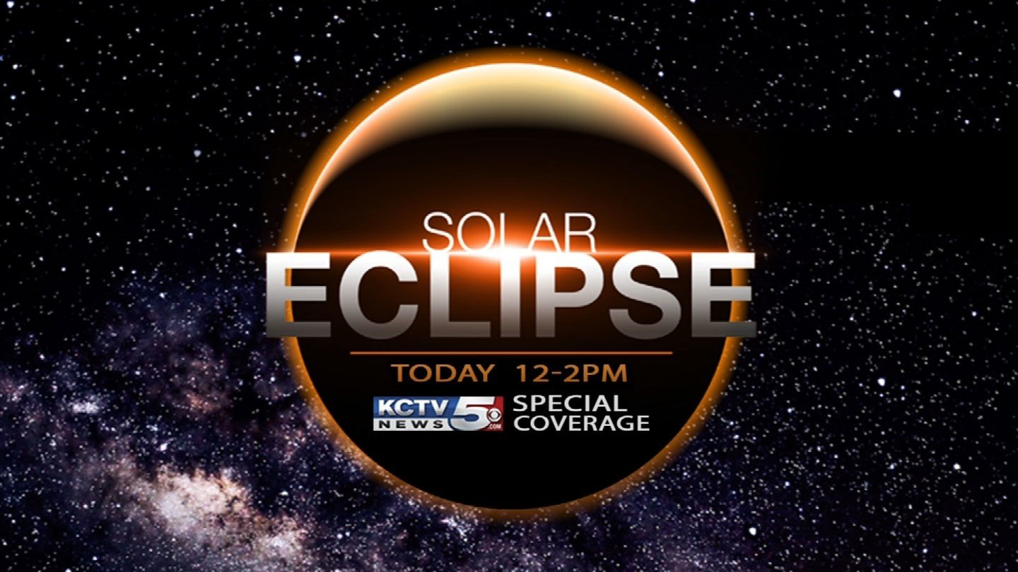 KCTV5 is your station for the solar eclipse. Because of this special event, some of your favorite programs could be impacted. (KCTV5)
