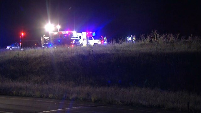 Kansas Highway Patrol says three people were killed in the single-vehicle accident. (KCTV5)