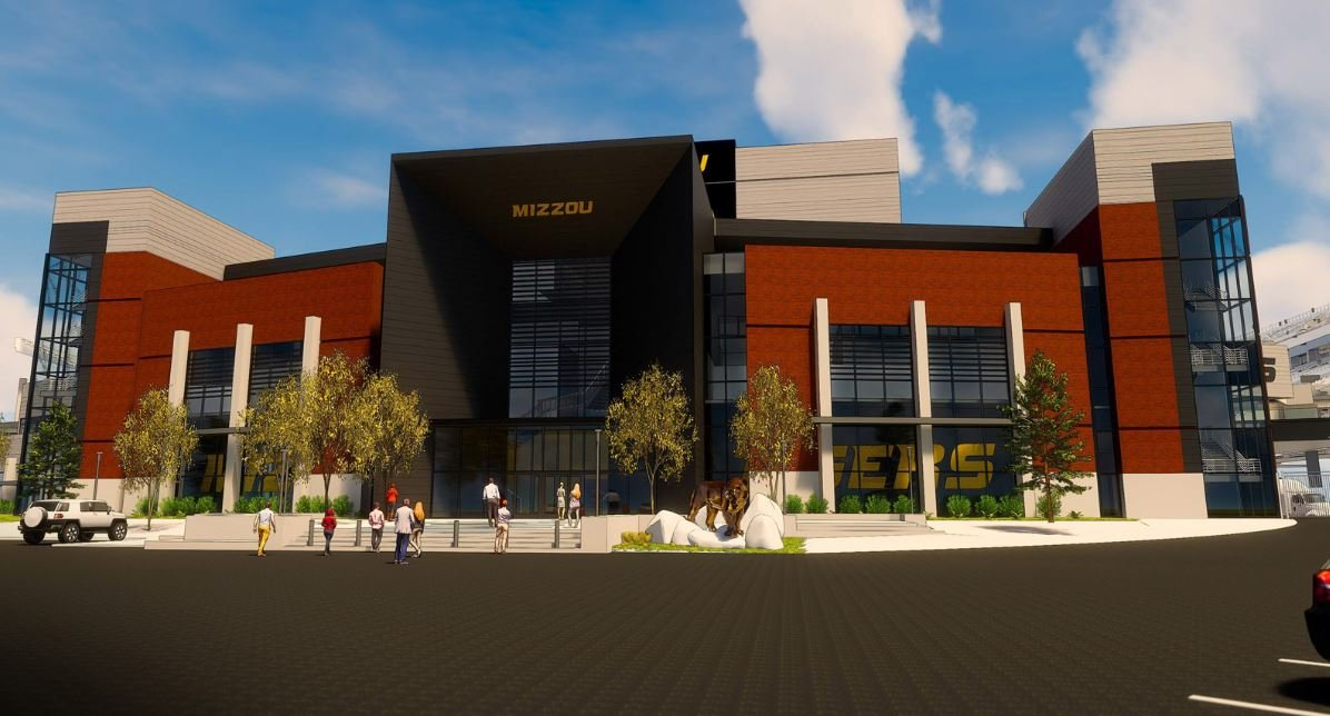 The project will provide state-of-the-art training facilities for Mizzou Football, create additional premium seating opportunities and game-day enhancements for all Tiger fans to enjoy. (University of Missouri)