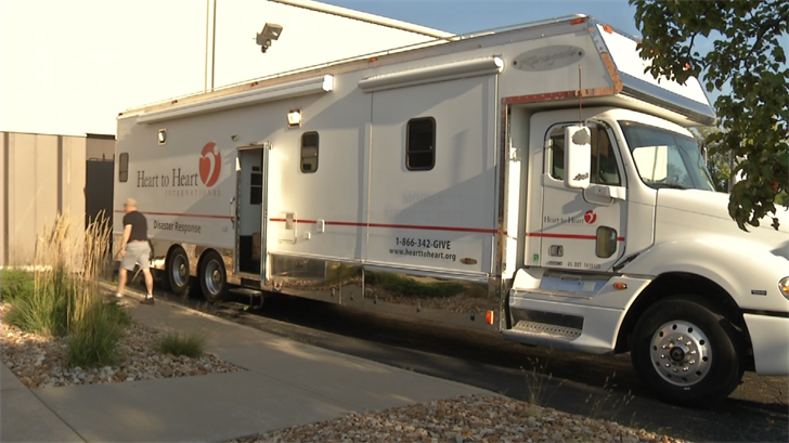 The organization is taking its mobile medical unit to Texas to help those impacted by the hurricane. (KCTV)
