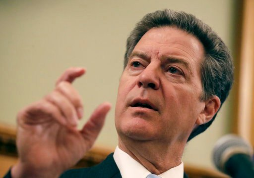 OutgoingKansasGov. Sam Brownback says the state's prisons, hospitals and other facilities are in disrepair after years of underfunding. (AP)