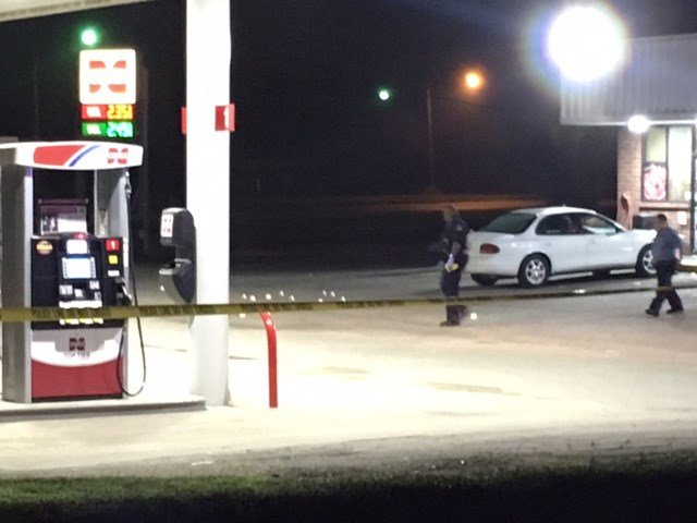 The shots rang out about 2 a.m. at Cenex in the 6800 block of Kaw Drive. (KCTV5)