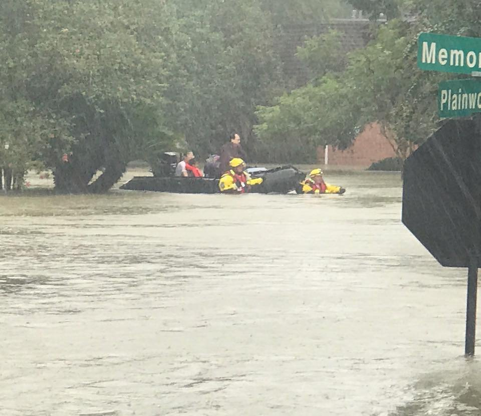The Missouri Task Force One emergency responders group has rescued over 316 residents and 35 pets in Houston after arriving in the Lone Star State. (Boone County Fire Protection District)