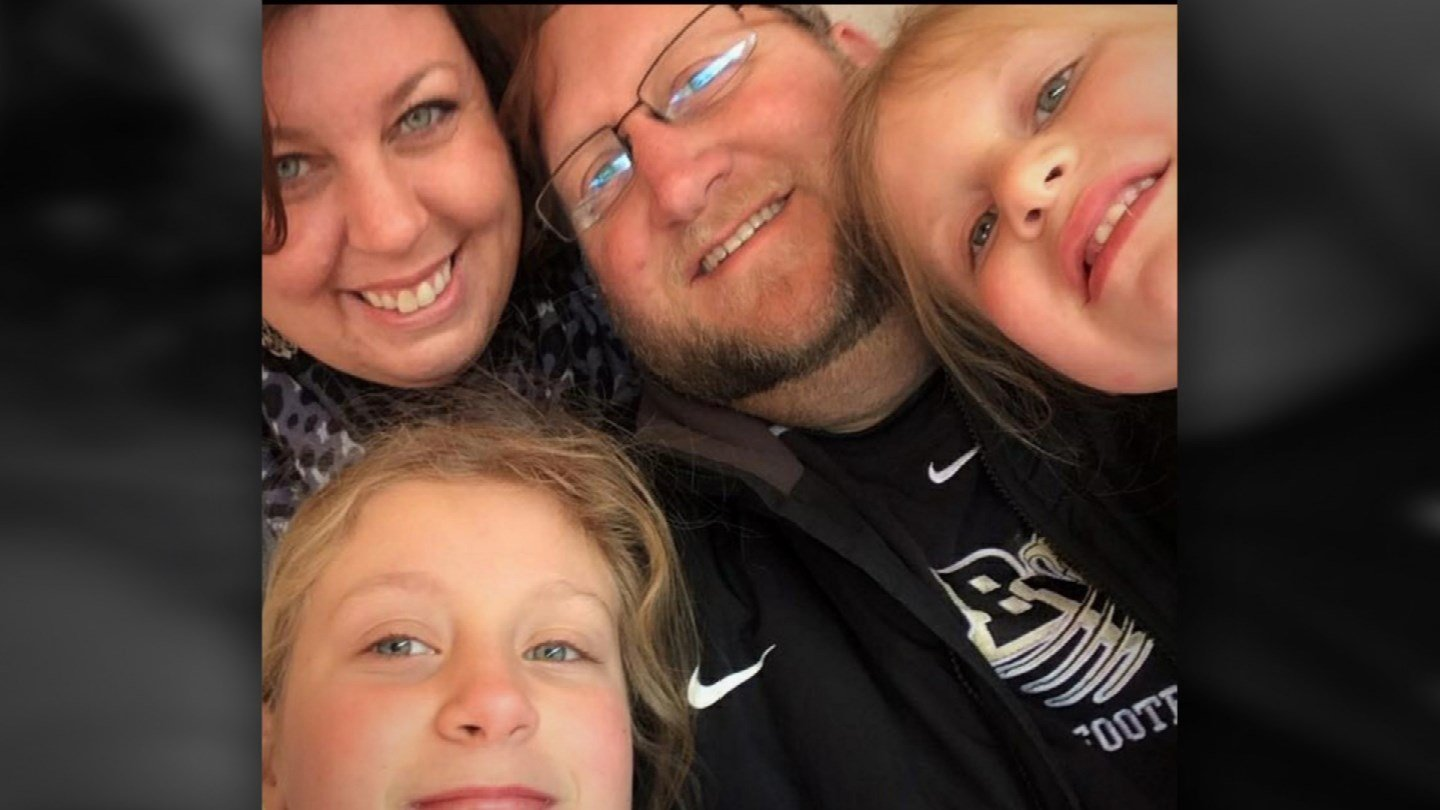 A photo of Eric Driskell and members of his family. (Submitted)