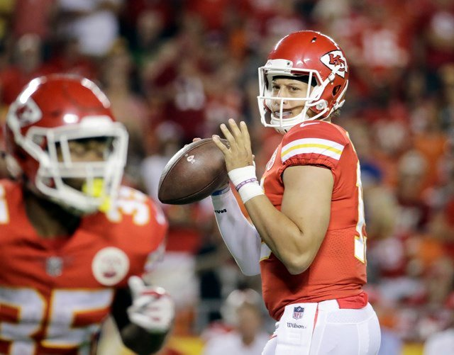 Mahomes will help promote and attend as many Team Little Owl charitable functions as possible. (AP)