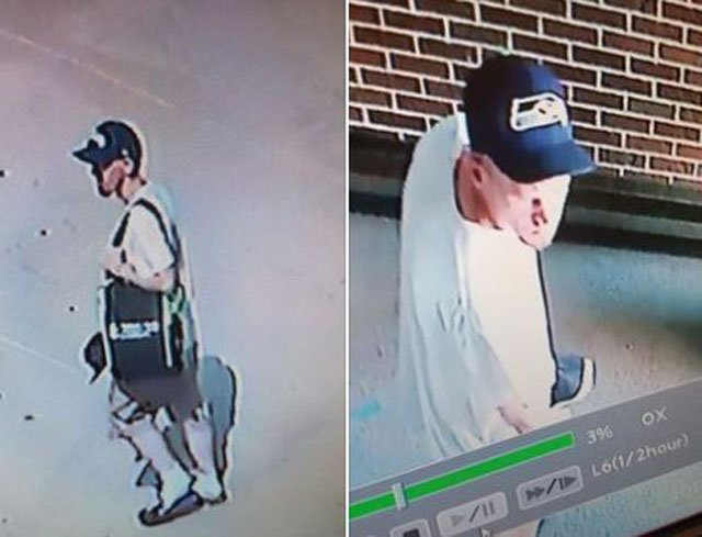 The Raytown Fire Department says a man broke into the fire station while firefighters were collecting donations for the Muscular Dystrophy Association. (Raytown Fire Protection District/Facebook)