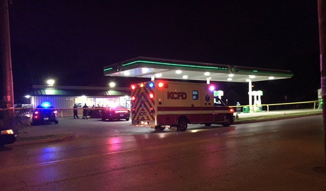 After being shot the man drove to a nearby gas station and called the police. (KCTV5)
