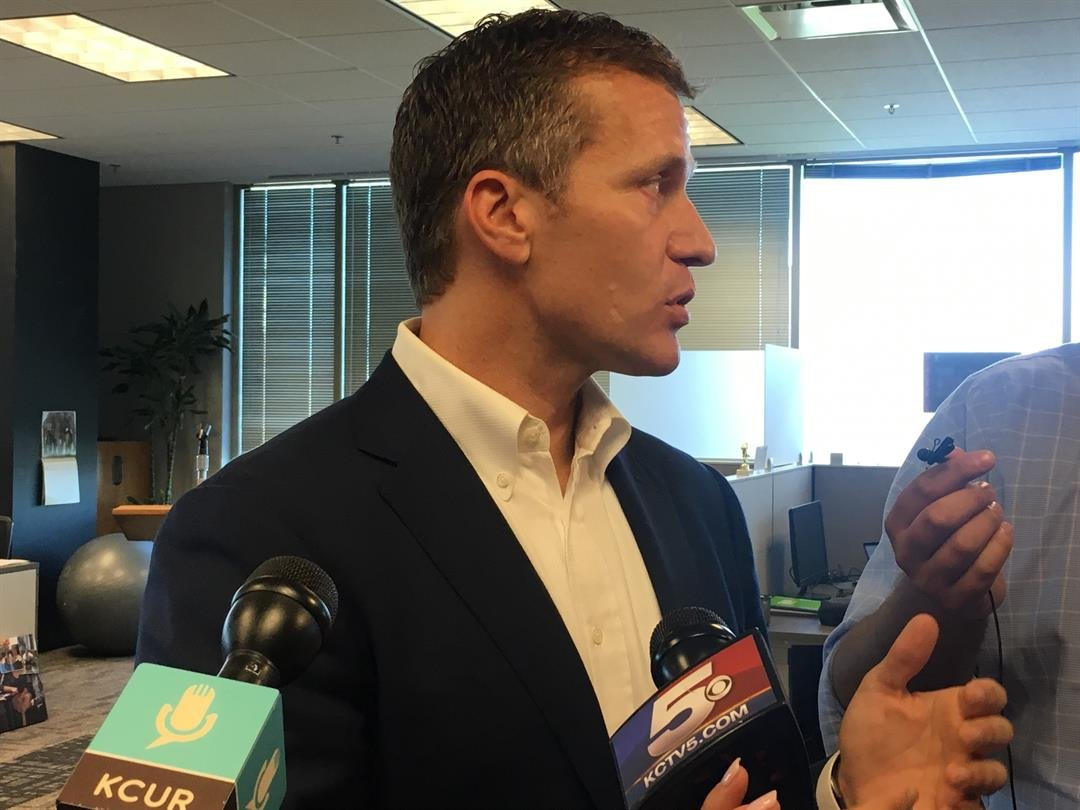 Missouri Gov. Eric Greitens is proposing to cut the state's top individual income tax rate by 10 percent and reduce the corporate income tax rate by nearly one-third. (KCTV5)