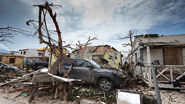 Some of the items collected will be sent to Hurricane Irma victims while others are spread to areas affected by other disasters like Hurricane Harvey. (AP)