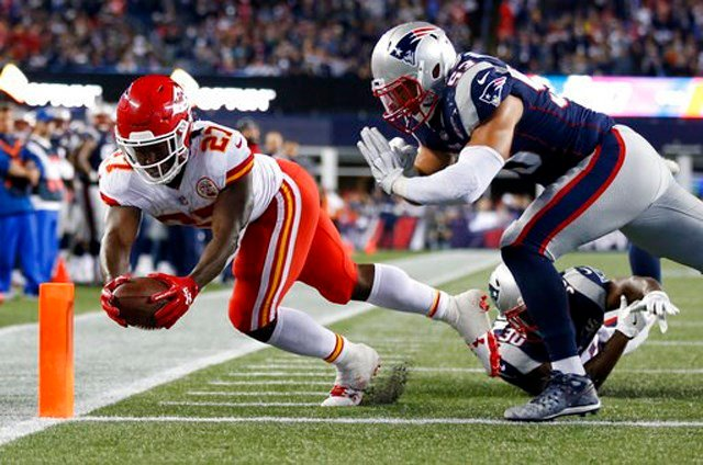 Reid prepared the team and led Kansas City into a hostile environment but it was the team as a whole who played better in Foxborough than anyone else in the last decade. (AP)