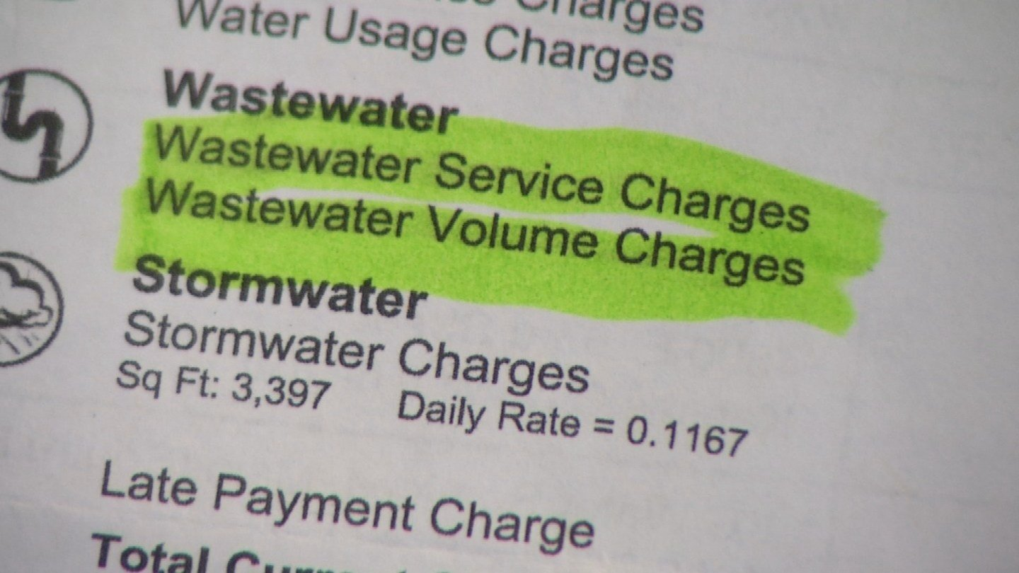 Earlier this year, Tim Trayson took a close look at his water bill from KC Water Services and noticed something funny. (KCTV5)