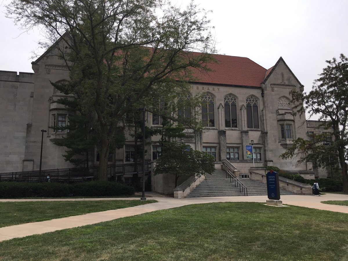 A library on the University of Kansas campus now offers gender-inclusive restrooms. (Nathan Vickers/KCTV5)