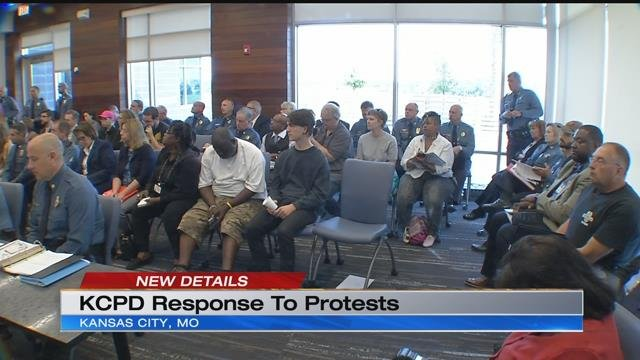 During a Police Board of Commissioners meeting in the Northland on Tuesday, a group of concerned citizens expressed their concerns about unequal treatment when it comes to open carry at protests.(KCTV5)