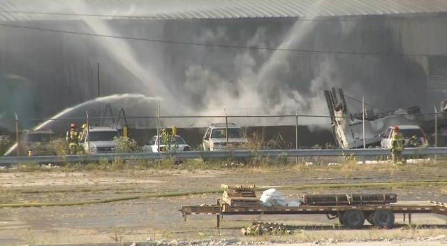 Investigators from the Lee's Summit Fire Department and the Bureau of Alcohol, Tobacco and Firearms are looking into the cause of a chemical fire that damaged an area business. (KCTV5)