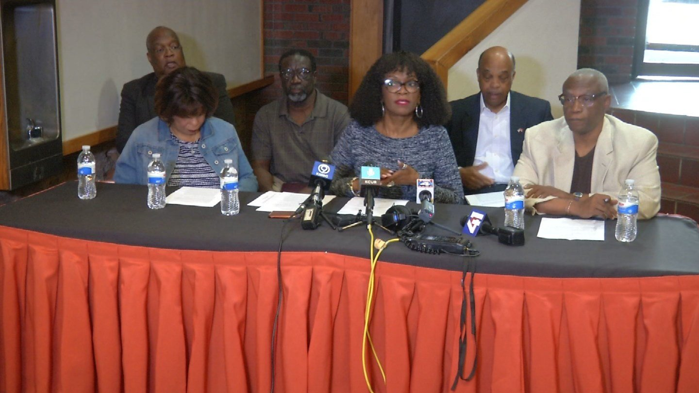 Members of the KCI Airport Urban Consortium say they are worried that the airport project doesn't do enough to support Kansas City's minorities. (KCTV5)