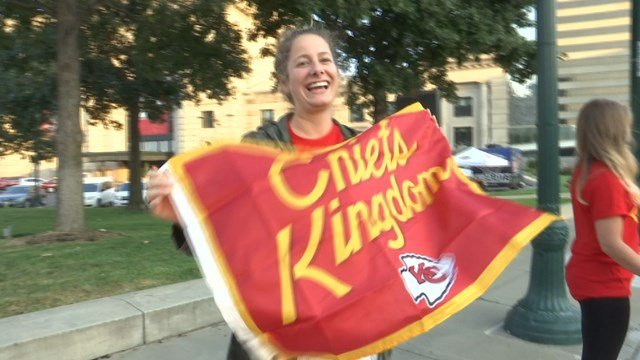 All of the proceeds from the flags go to the Ronald McDonald House Charities, which supports families with children hospitalized for long periods in Kansas City. (KCTV5)