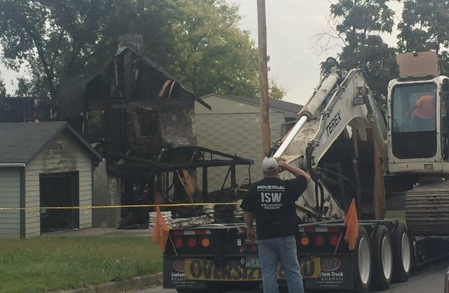 The cause of the fire is unknown. No other homes were affected by the flames. (KCTV5)