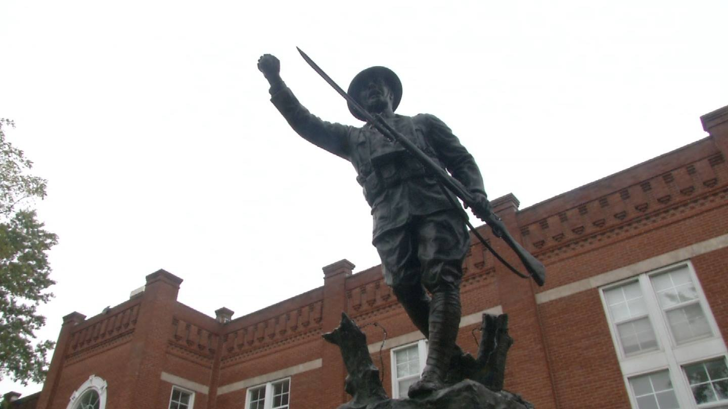 Alumni of recently-closed Wentworth Military Academy are fighting in court to stop the auction of a World War I Doughboy statue that's been on campus for more than 90 years. (KCTV5)