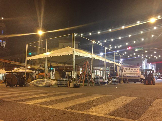 The event features more than 240 participating artists, more than 50 musicians performing on three live stages and 25 restaurant booths. (KCTV5)