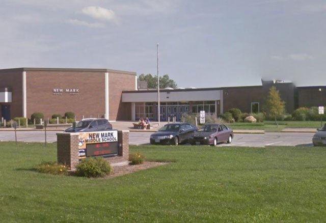 The principal at New Mark Middle School, 515 NE 106th St., says the gun was not loaded. (GoogleMaps)