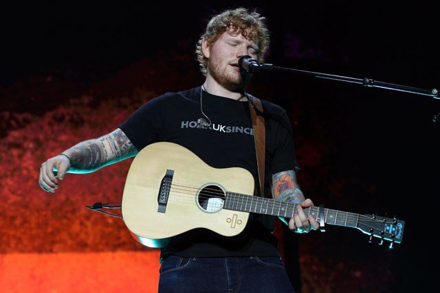 Grammy award-winning singer Ed Sheeran has announced a stop next year at Arrowhead Stadium. (AP)