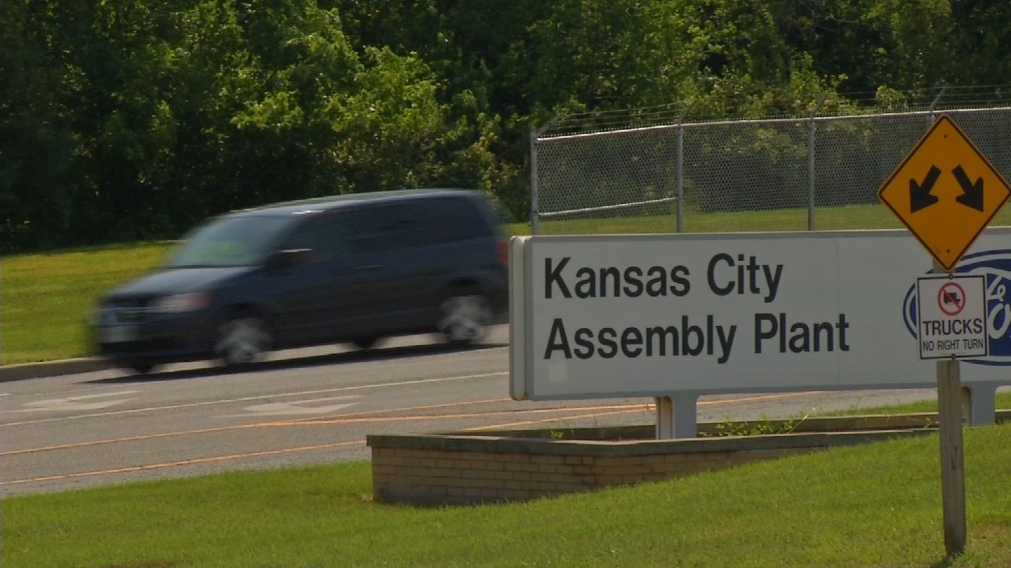 Ford Motor Co. is idling Transit van production at its Claycomo plant for one week. (KCTV5)