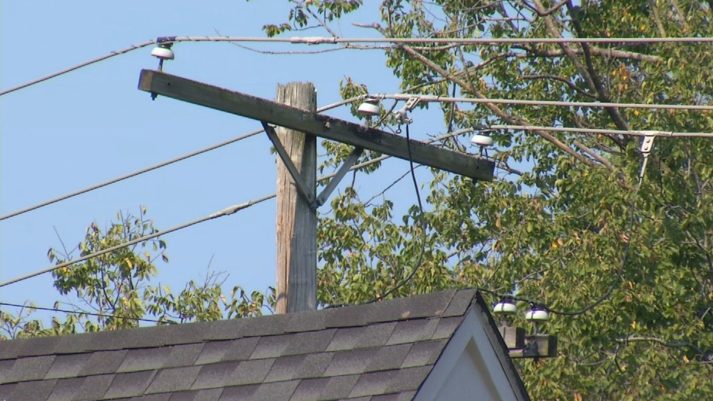 A neighborhood in Prairie Village has been left in the dark repeatedly this summer. (KCTV5)