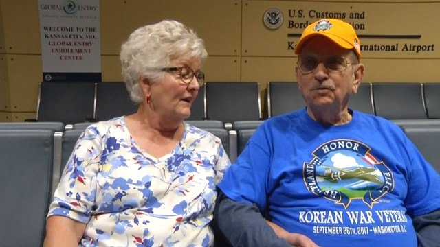 The organization is planning to have a welcoming ceremony at 9:15 p.m. Tuesday when the group returns to KCI. (KCTV5)