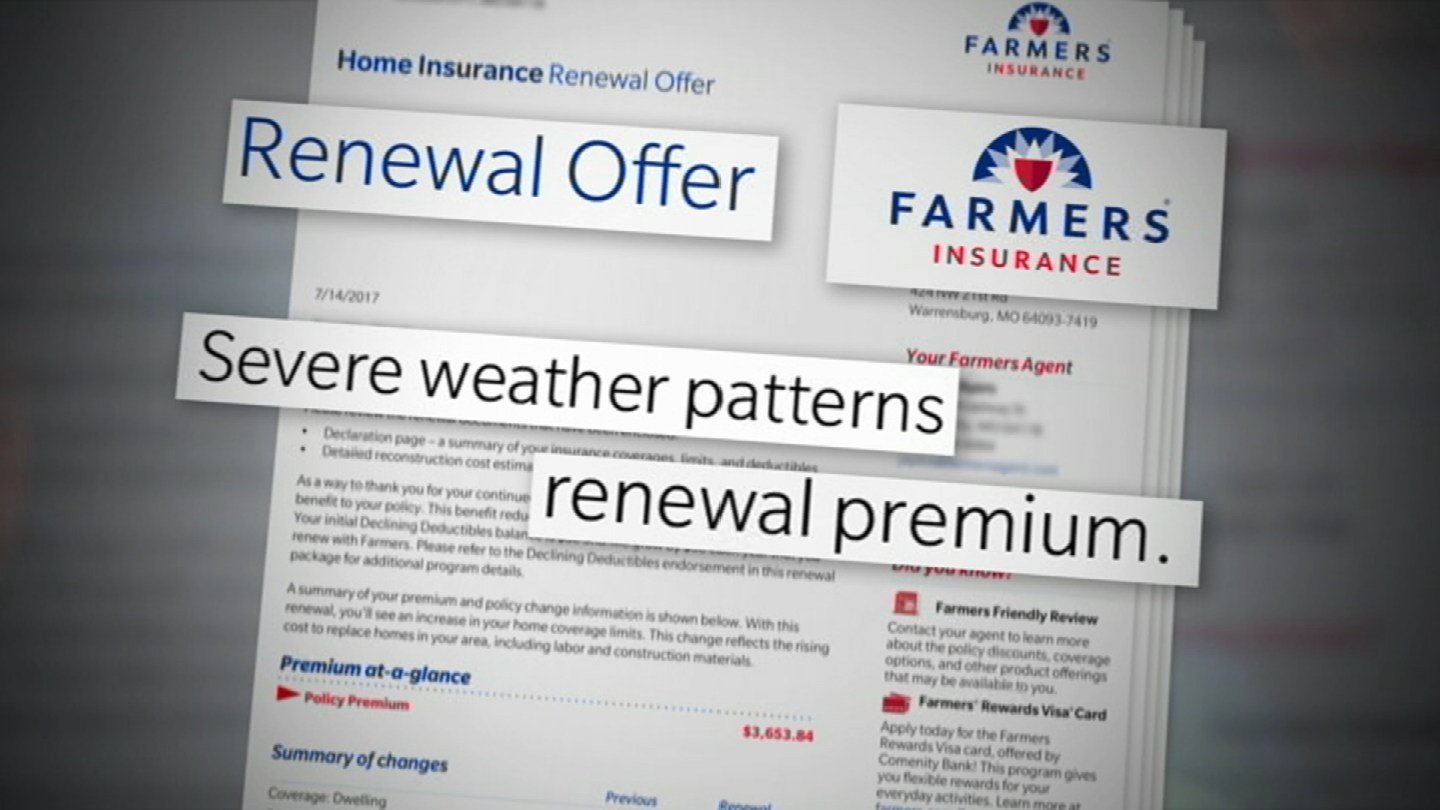 """""""They said, due to the bad weather we've had in Missouri everybody's rates are going up and this is what we're doing,"""" Amy Lock said. (KCTV5)"""