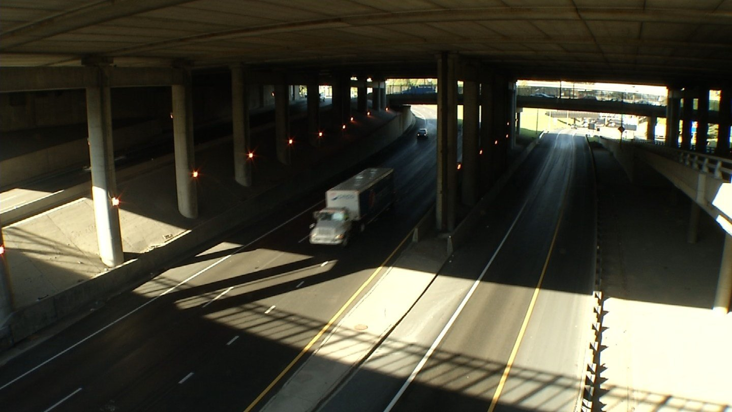 A range of lighting for roadways and ramps near Bartle Hall is in the works. (KCTV5)