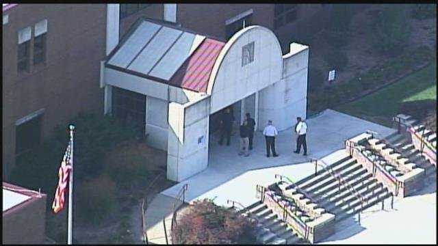 The school, located at 901 NE Douglas Street, says students will be sent home from school at 9:15 a.m. (Chopper5)