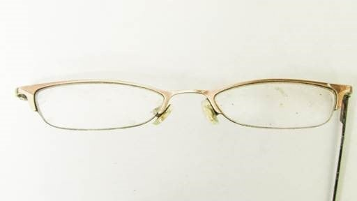 Eyeglasses the woman was wearing. (KBI)