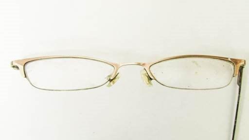 Eyeglasses the woman was wearing. (KBI)
