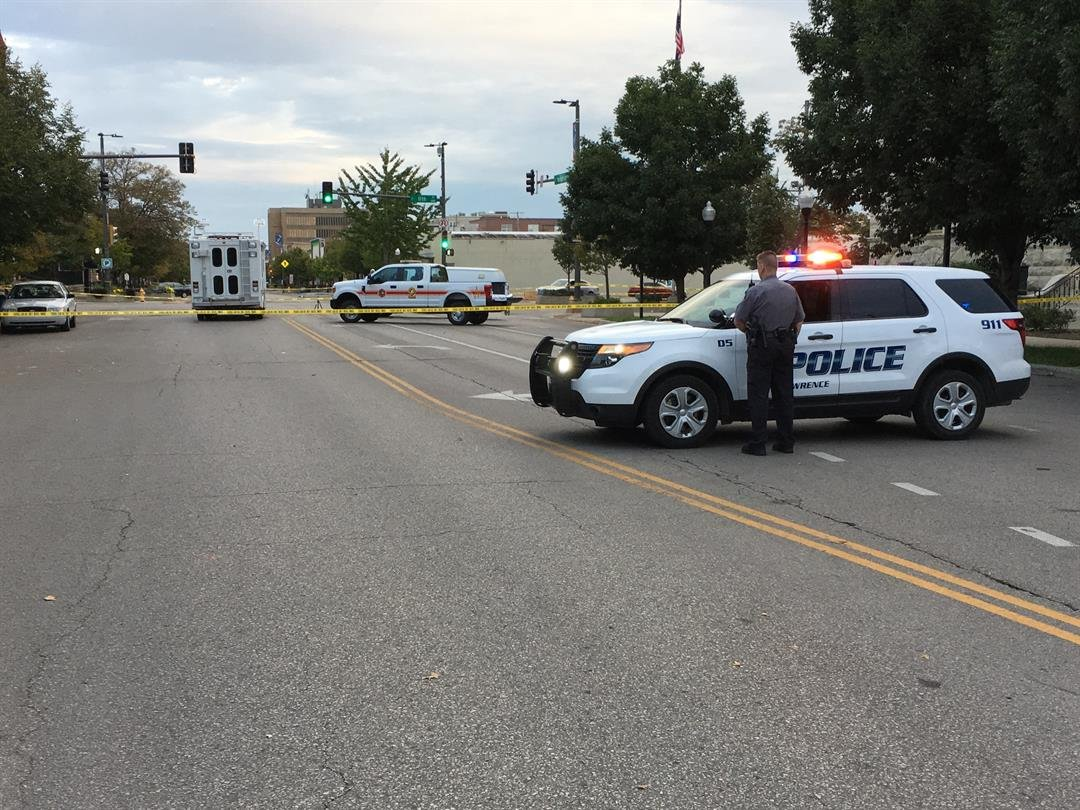 Three people were killed and two others injured on Oct. 1 near Liberty Hall, following an altercation. (Eric Smith/KCTV)