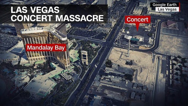 At least 515 people were injured in the shooting. (AP)