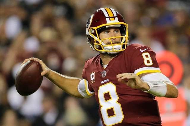The growing pains showed through two weeks, but quarterback Kirk Cousins is coming off his best performance last week with 365 yards with three touchdowns. (AP)