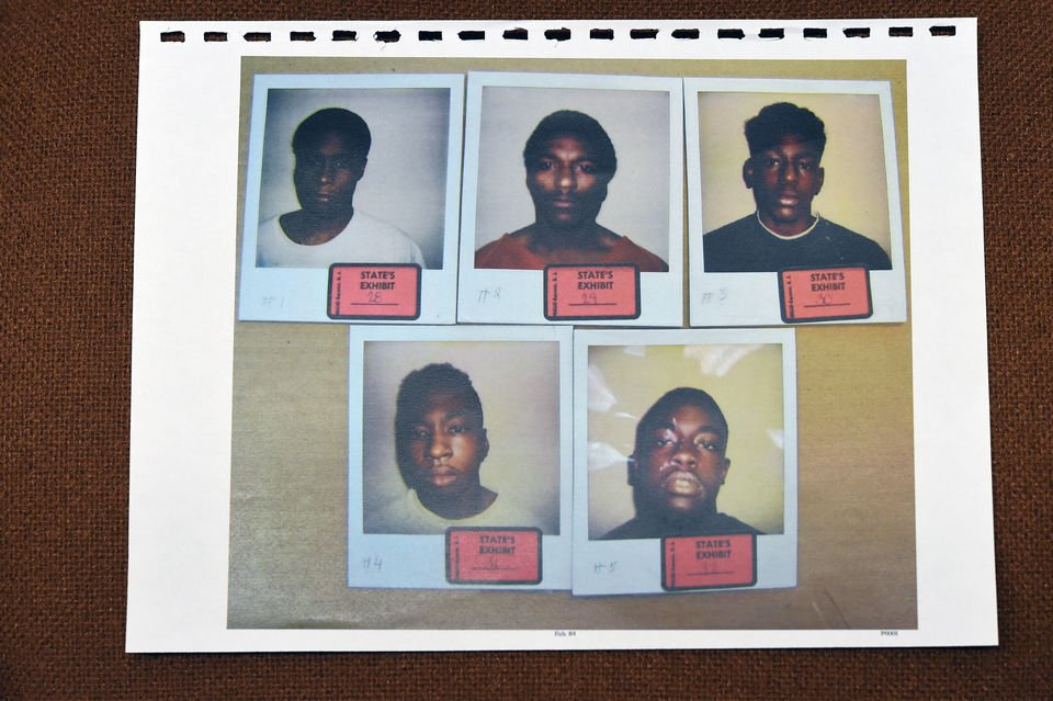 Only five photos were included when normal police procedure is to use six. And three of the five people are related to Rosie McIntyre. Two of her sons and her nephew were all in the same lineup. (Attorney Cheryl Pilate)
