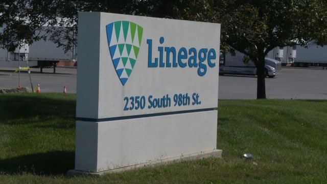 Lineage Logistics is a cold storage warehouse for food. They already have one facility in Edwardsville and want to build a new one near 159th Street and Moonlight Road in Olathe. (KCTV5)