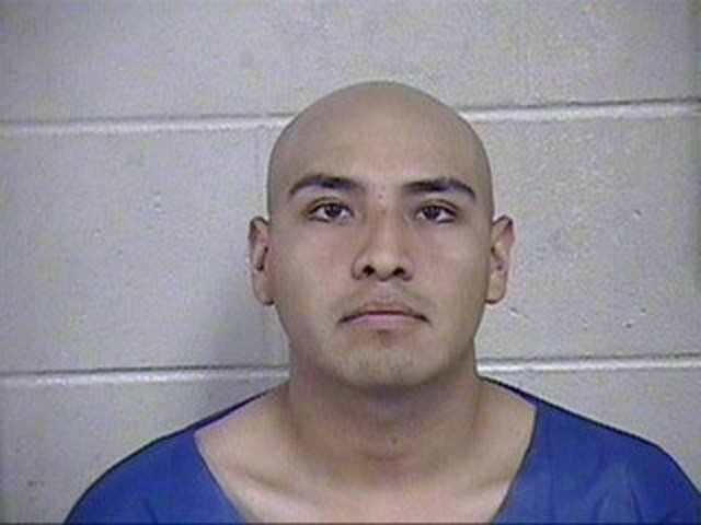 Juan Contreras, 22, of Greeley, Colorado, was charged in March with one count of rape. (Jackson County Correctional Center)