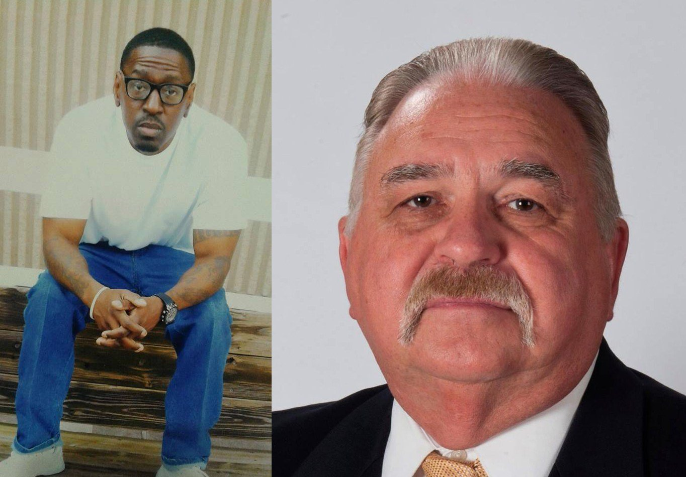 Lamonte McIntyre and Roger Golubski. (Submitted to KCTV)