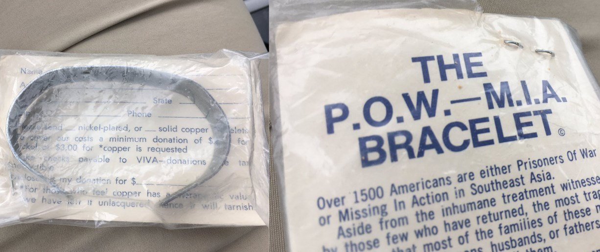 The bracelet a woman had in Belton, MO had the name of a P.O.W. on it. She called KCTV5 to try and find out what happened to the veteran. (KCTV)