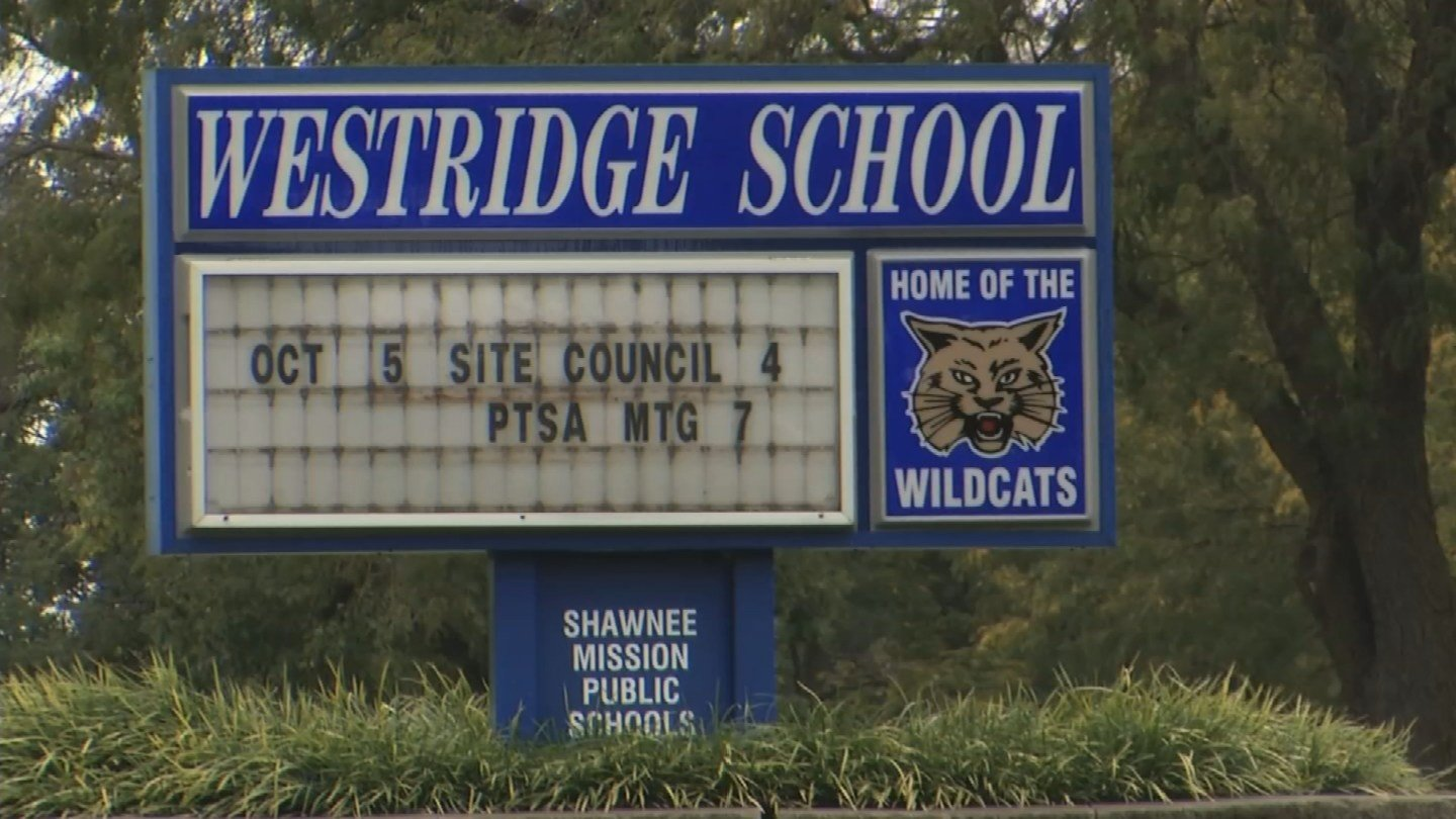 The girl says the assault happened earlier this year in a study hall classroom at Westridge Middle School. (KCTV5)