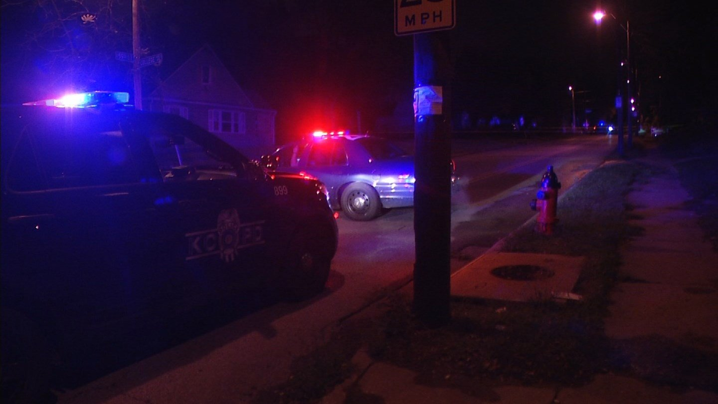 Authorities are investigating after three people were shot inside an east Kansas City home. (KCTV5)