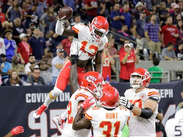 Yet despite all the injuries, a brutally difficult set of opponents and a topsy-turvy schedule, the Chiefs have managed to overcome it all. (AP)