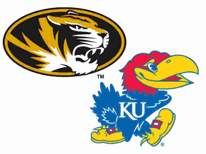 The University of Kansas and the University of Missouri are discussing charity exhibition basketball game at Sprint Center that would raise funds for hurricane relief