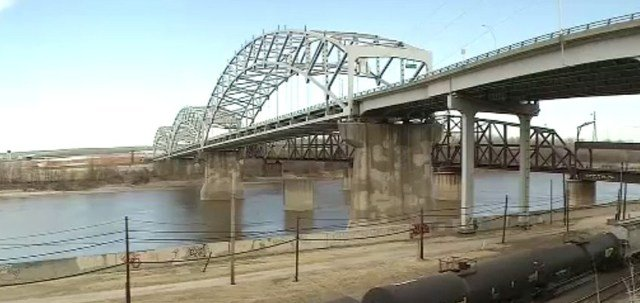 Kansas City wants the money to repair the Buck O'Neil Bridge. It carries 44,000 drivers a day over the Missouri River. (KCTV)