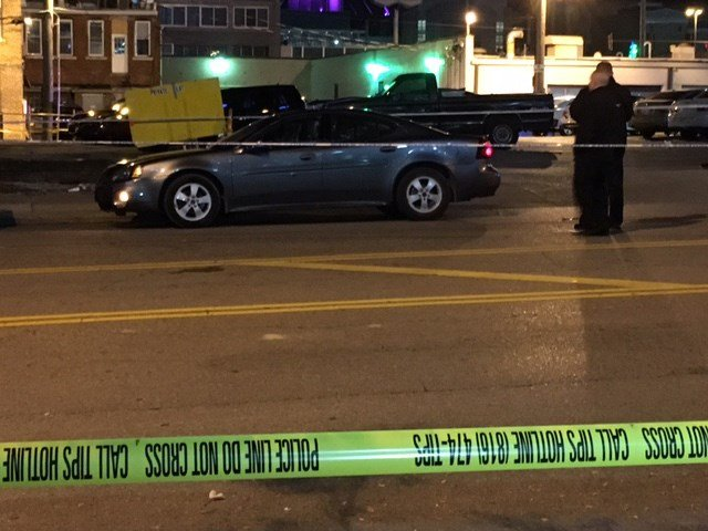 The shooting happened at about 2:06 a.m. in the 300 block of McGee Street, near Truman Road. (KCTV5)