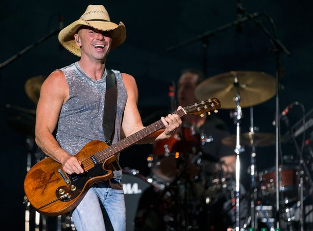 Kenny Chesney is coming back to Arrowhead Stadium in 2018. (AP)