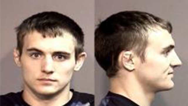 The four property damage counts were filed earlier this month against 23-year-old Nathaniel Conant. (Boone County Sheriff's Office)