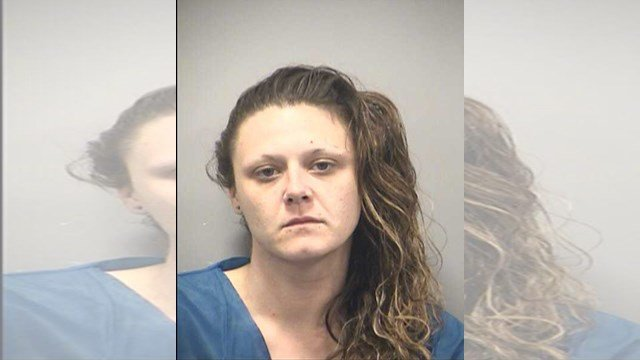 Stephanie Sandstrom, 30, was charged Wednesday with one count each of second-degree murder, first-degree assault, unlawful possession of a firearm and two counts of armed criminal action. (Jackson County Sheriff's Office)